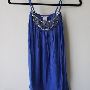Candie's XS Blue Tank Top